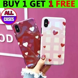 Accessories - NEW iPhone X/XS/7/8/Plus Heart Case